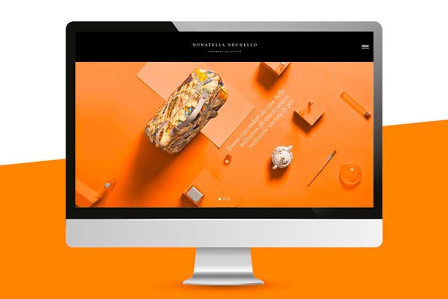 Grafica homepage sito