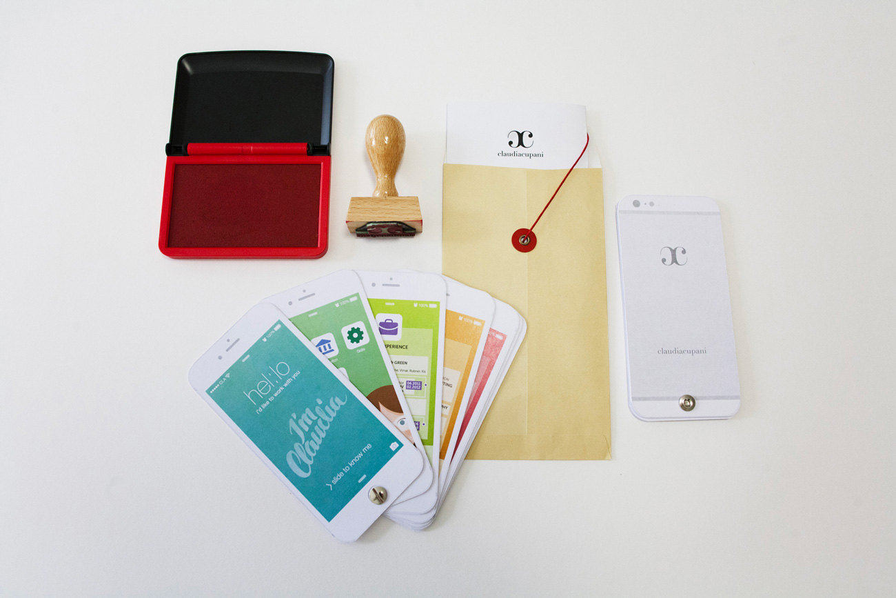 Kit completo curriculum creativo
