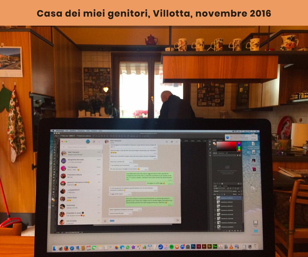 Nomade digitale a Villotta